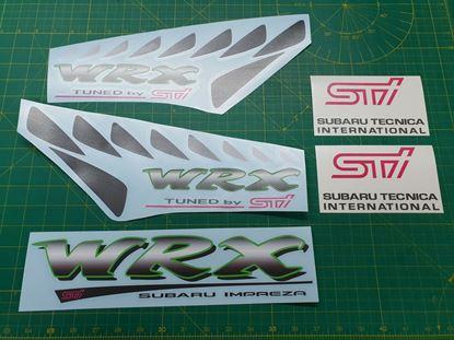 Picture of Subaru Impreza WRX Sti replacement Decals / Stickers