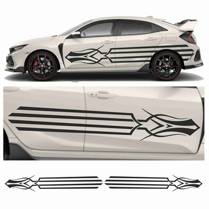 Picture of JDM side Rocket Tribal Graphics