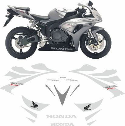 Picture of Honda CBR 1000RR Fireblade 2006 - 2007 Replacement Decals / Stickers