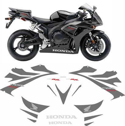 Picture of Honda CBR 1000RR Fireblade (Racing) 2006 - 2007 Replacement Decals / Stickers