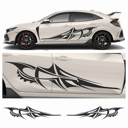 Picture of JDM side Razor Tribal Graphics