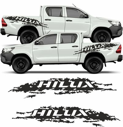 Picture of Toyota Hilux Mud splash side graphics / Stickers