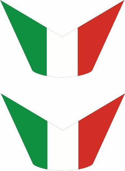 Picture of Italia Panel / Tank  Decals / Stickers