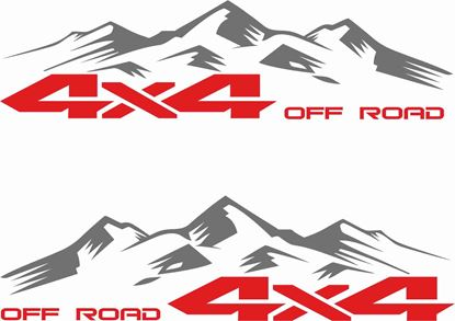 "Picture of ""4x4 Off Road"" Decals / Stickers"