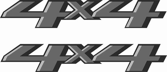 Picture of 4x4  Decals  / Stickers