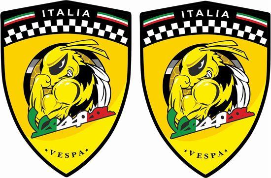 Picture of Vespa Italia Bee Decals / Stickers