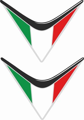 Picture of Italia Shield Decals / Sticker