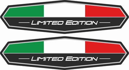 "Picture of Italia ""Limitedl Edition"" Decals / Sticker"