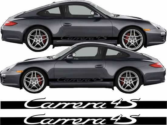 Picture of Porsche 911 / 996 Carrera 4S  side Stripes / Stickers