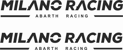 "Picture of Fiat ""Milano Racing...""  Decals / Stickers"