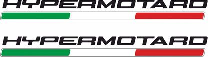 """Picture of DUCATI """"Hypermotard"""" Decals / Stickers"""