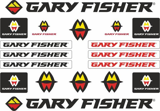 Picture of Garry Fisher Frame Sticker kit