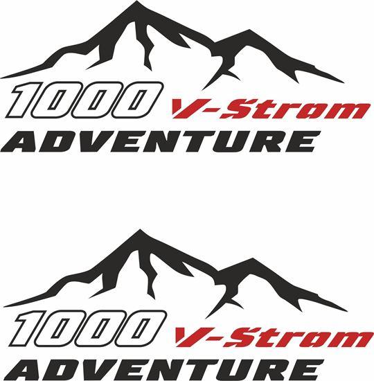 Picture of Suzuki V-Strom  Givi / Touratech Pannier  Decals / Stickers