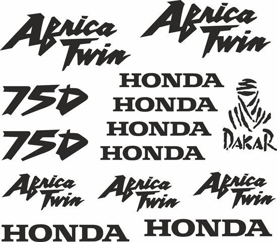 Picture of Honda XRV 750  Decals / Sticker kit