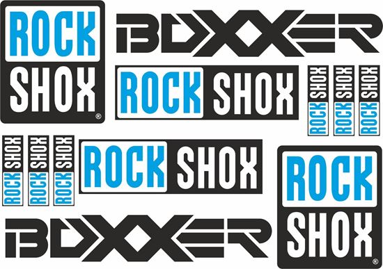 Picture of RoxShox Boxxer Suspension Frame Sticker kit