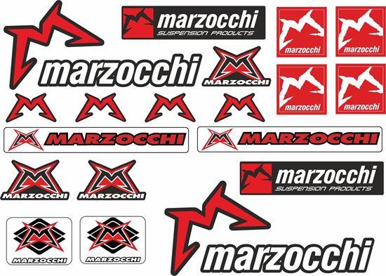 Picture of Marzocchi Suspension Frame Sticker kit