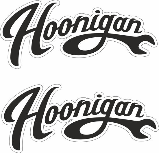 Picture of Hoonigan panel Decals / Stickers