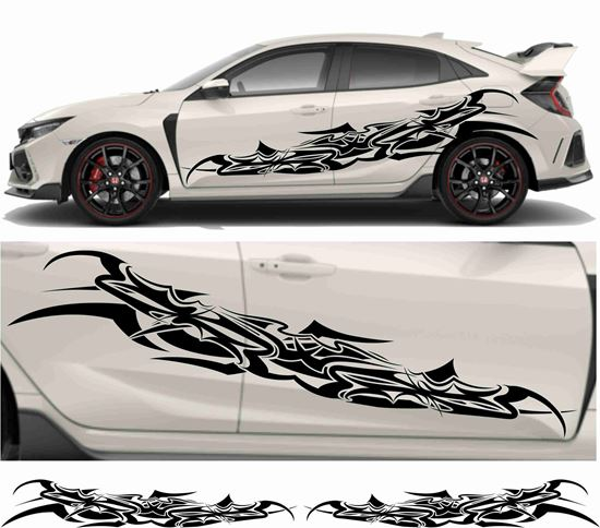 Picture of JDM side Tribal  Graphics