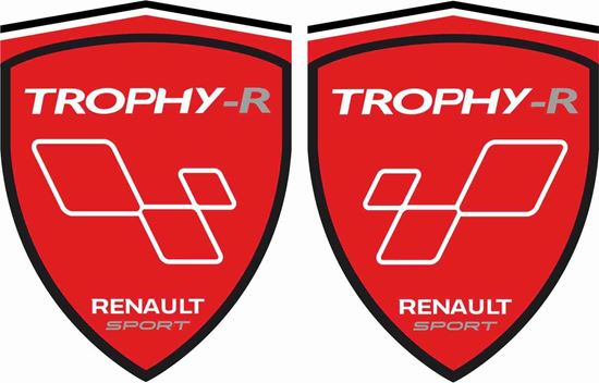 Picture of Renault Trophy-R Decals / Stickers