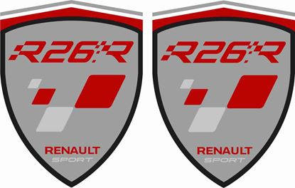 Picture of Renault Megane R26R Decals / Stickers
