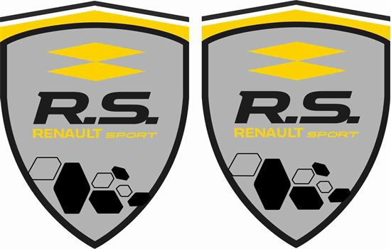 Picture of Renault R.S. Renault Sport Decals / Stickers