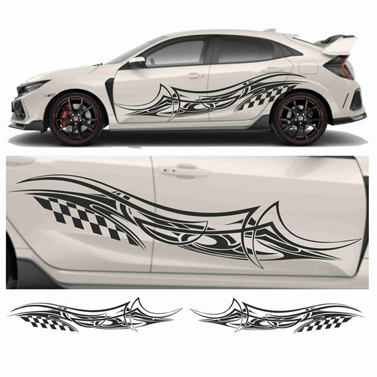 Picture of JDM side Racing Tribal Graphics