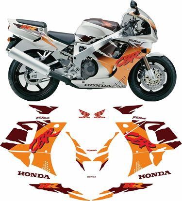 Picture of Honda CBR 900RR  Urban Tiger 1994 replacement Decals / Stickers
