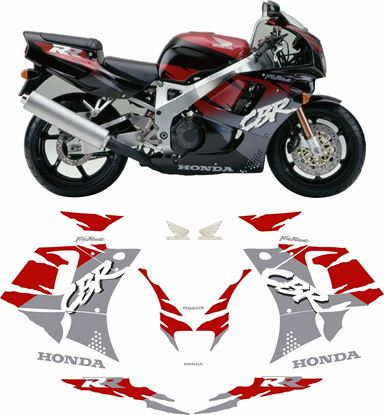 Picture of Honda CBR 900RR 1995 replacement Decals / Stickers