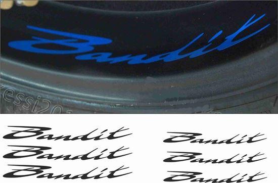 Picture of Suzuki  Bandit Inner Wheel Decals / Stickers