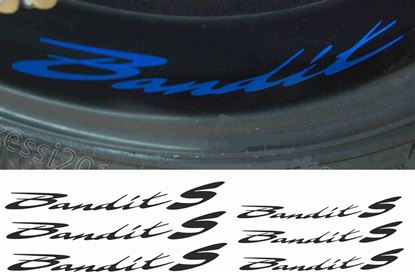 Picture of Suzuki Bandit S Inner Wheel Decals / Stickers