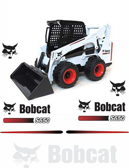 Picture of Bobcat S650 Replacement Decals / Stickers