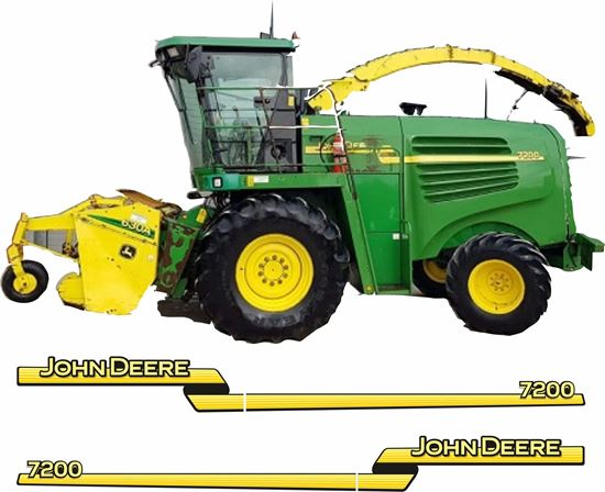 Picture of John Deere Forage Harvester Replacement Decals / Stickers