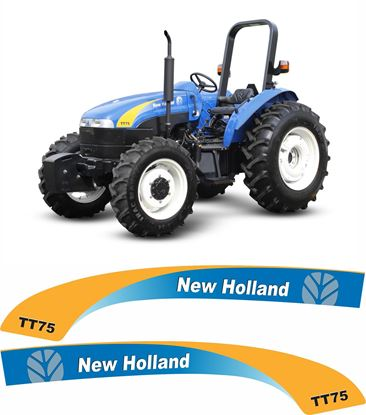 Picture of New Holland TT75 Replacement Decals / Stickers