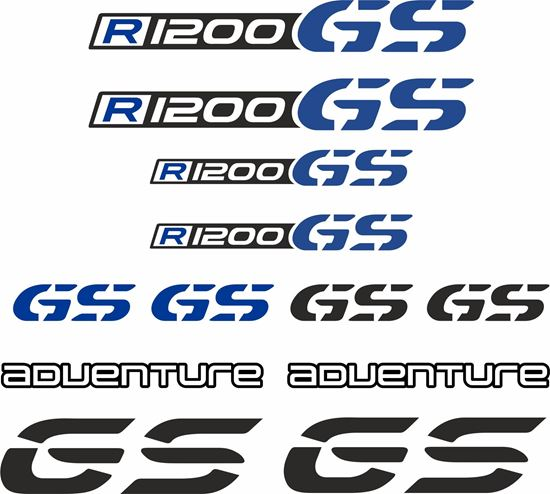 Picture of BMW R 1200 GS Decal / Sticker kit