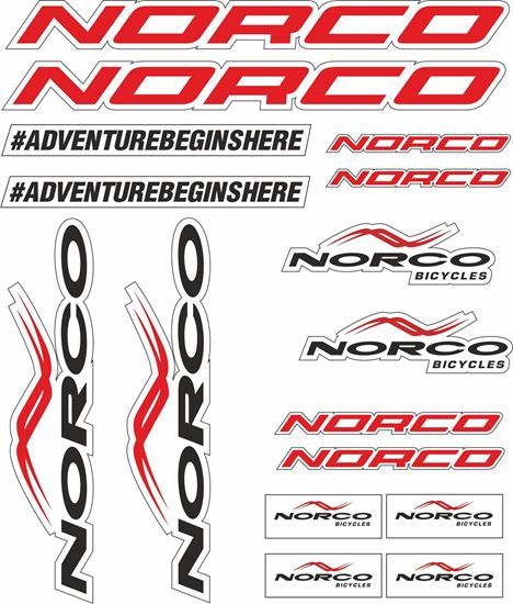 Picture of Norco Frame Sticker kit
