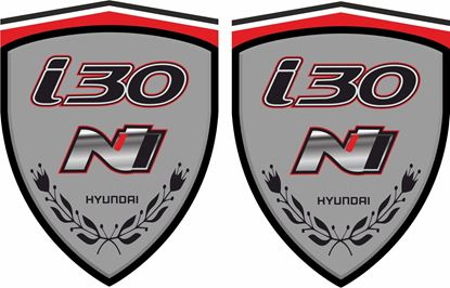 Picture of Hyundai i30N Wing / Panel Decals / Stickers