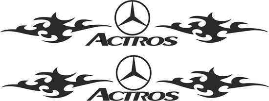 Picture of Mercedes Actros general Panel / Glass  Decals / Sticker