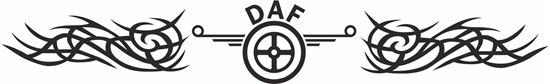Picture of Daf windscreen / Panel  Decal / Sticker