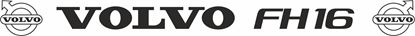 """Picture of """"Volvo FH16"""" Front screen Decal / Sticker"""