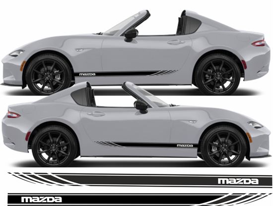 Picture of Mazda MX-5 side stripes  / Stickers