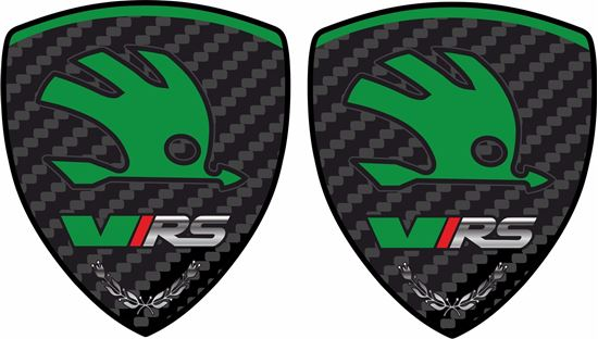 Picture of Skoda VRS Wing Decals / Stickers