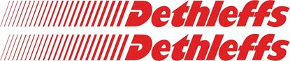 """Picture of """"Dethleffs"""" general panel  Decals  / Stickers"""