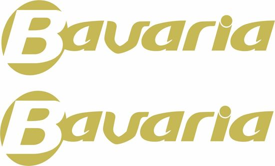 """Picture of """"Bavaria"""" panel  Decals  / Stickers"""