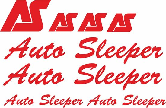 """Picture of VW T4 """"Auto Sleeper"""" panel  Decals / Stickers"""
