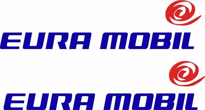 """Picture of """"Eura Mobil"""" Decals / Stickers"""