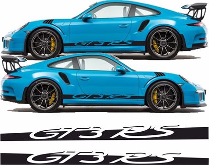 Picture of Porsche  991 GT3 RS side Stripes / Stickers FULL LENGTH
