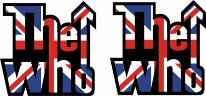 """Picture of """"The Who""""  Decals / Stickers"""