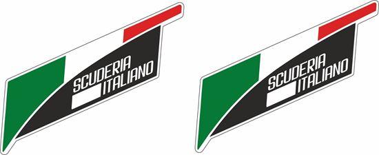"""Picture of """"Scuderia Italiano""""  Decals / Stickers"""