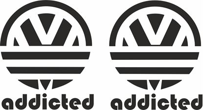 Picture of Addicted Decals / Stickers