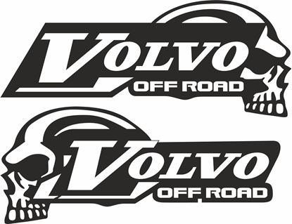 "Picture of Volvo FMX  ""Off Road"" Panel / Glass  Decals / Stickers"